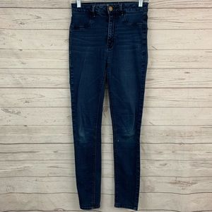 American Eagle sky high rise jegging skinny jeans